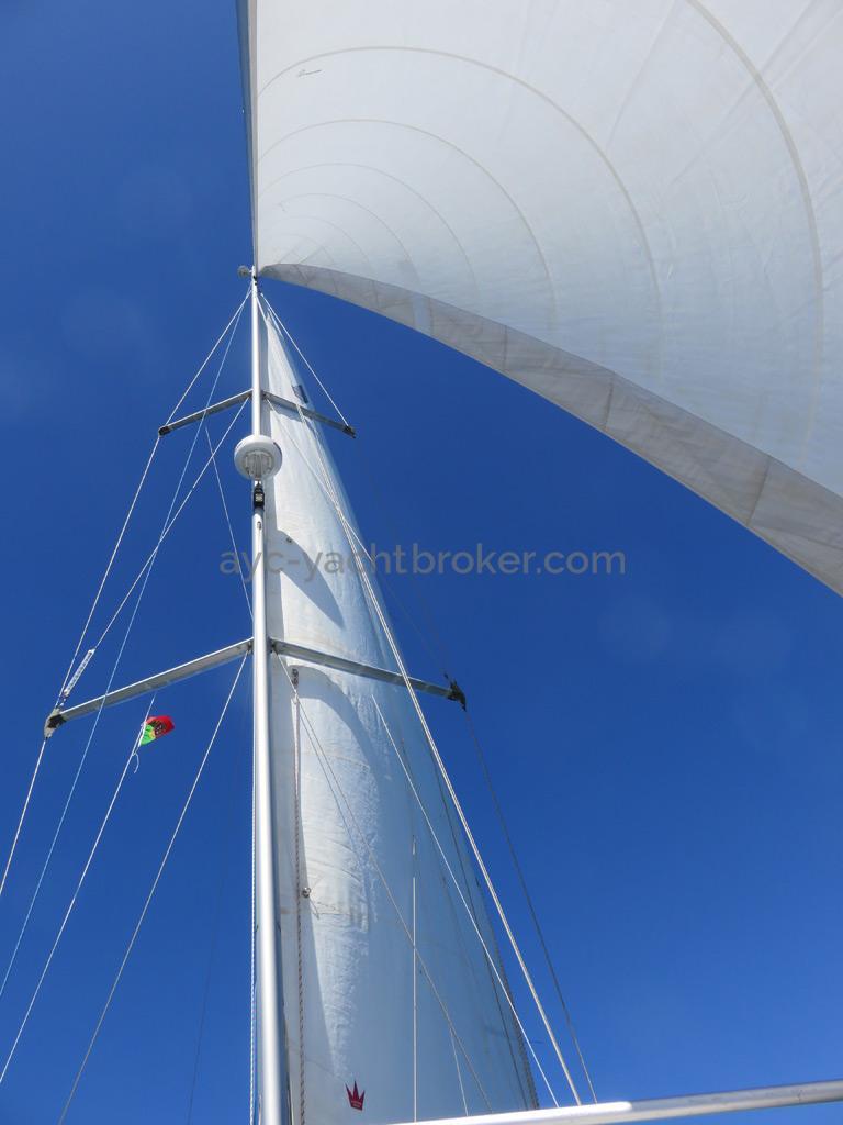 Bavaria 45 Cruiser - Under sails