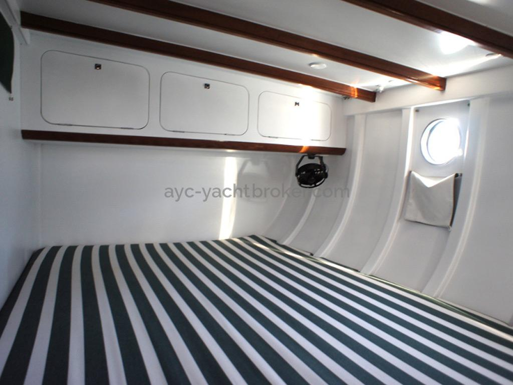 AYC Yachtbrokers - Tocade 50 - Double berth of the arf cabin