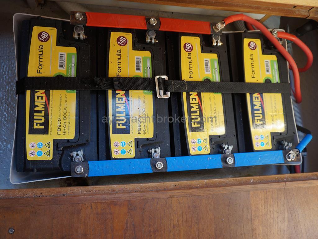 Feeling 44 Di - Batteries pack