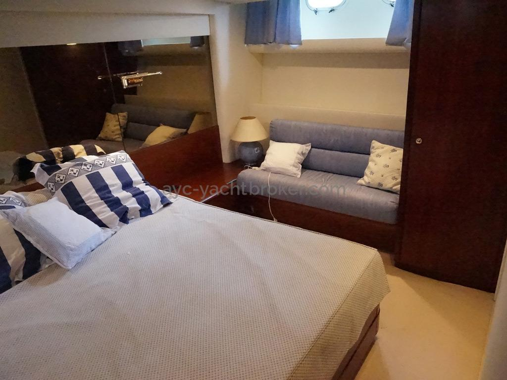 Guy Couach 1800 - Aft double cabin
