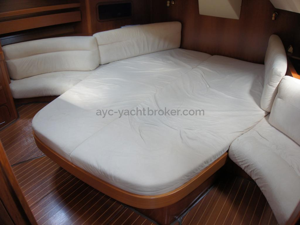 Grand Soleil 45 - Double bed in the aft cabin
