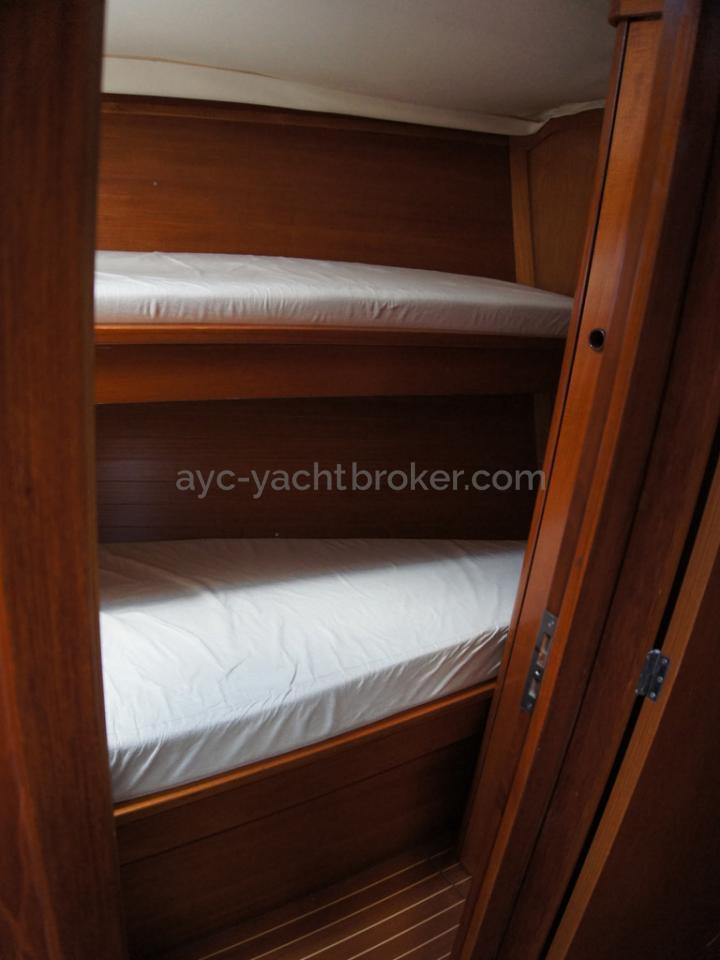 Grand Soleil 45 - Starboard side cabin