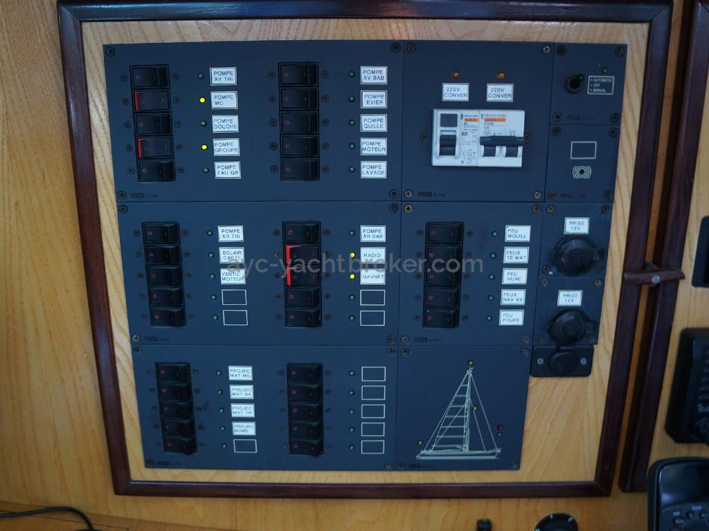 AYC - Randonneur 1200 - Electrical panel