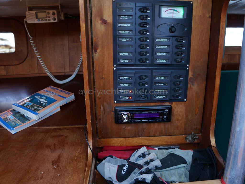 Dalu 47 - Electric panel