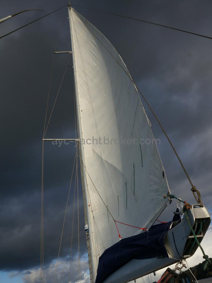 Dalu 47 - Undre sails