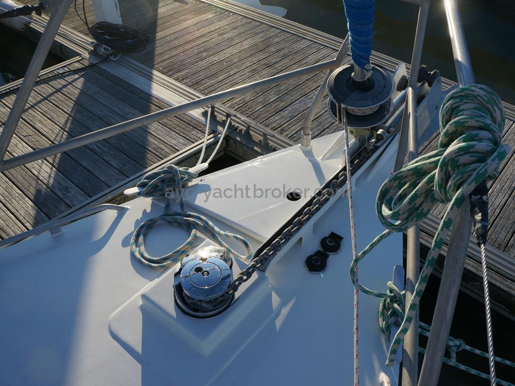 Patago 40 - Maxwell windlass