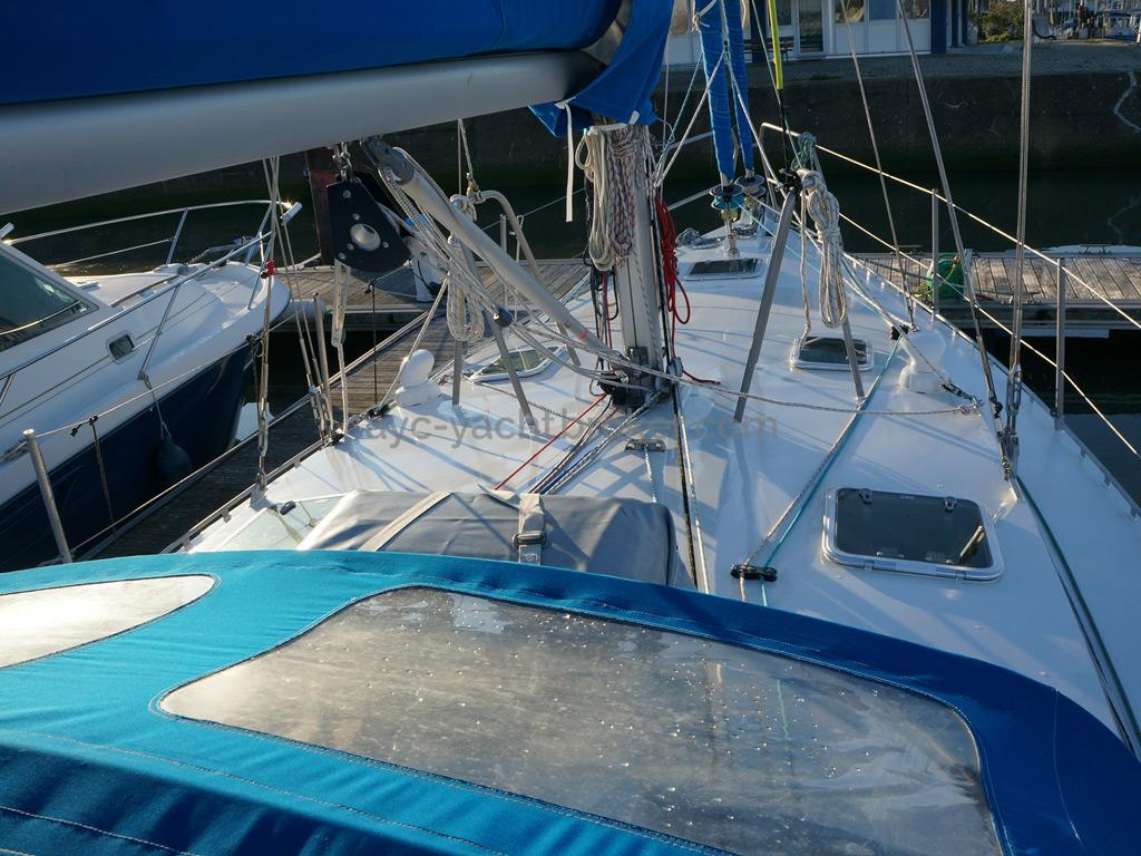Patago 40 - Foredeck