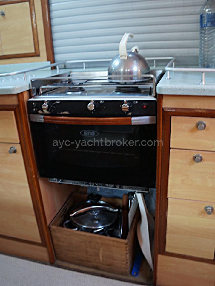 Patago 40 - Eno 2 burner cooker/oven