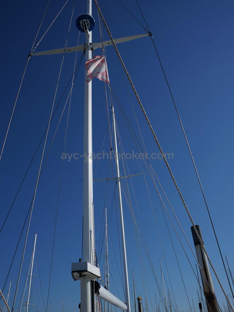 Horizon 70 - Mizzen mast