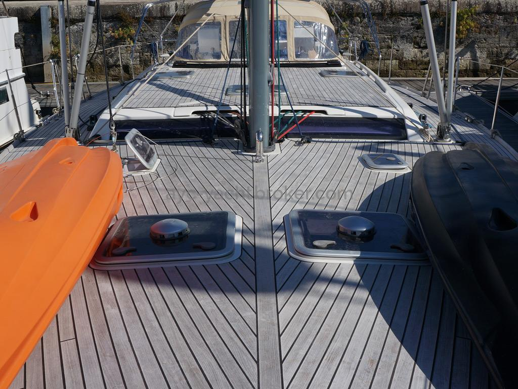 Dufour 485 Grand Large Custom - Deck and roof