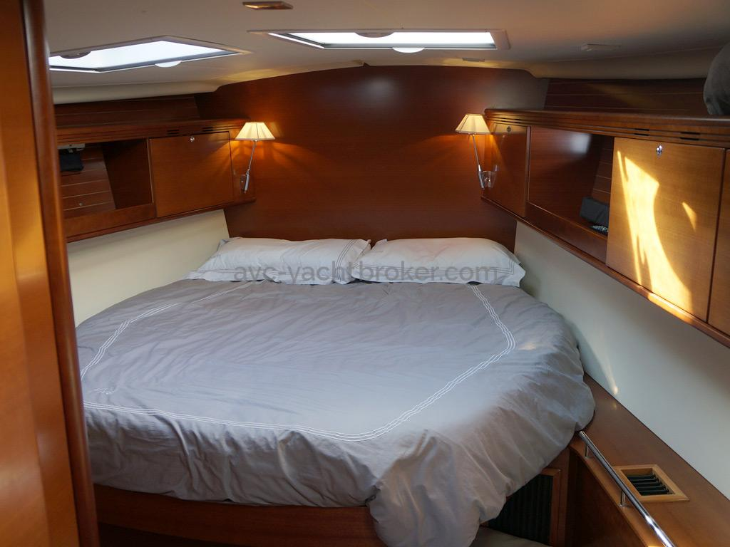 Dufour 485 Grand Large Custom - Forward cabin