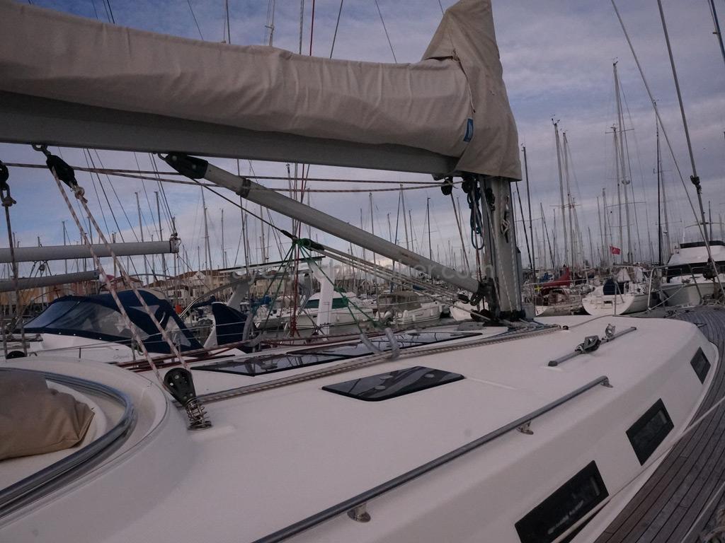 Bavaria 45 Cruiser - Mast step