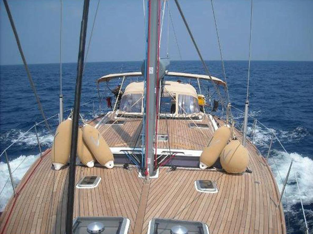 Dufour 485 Grand Large Custom - Teak deck