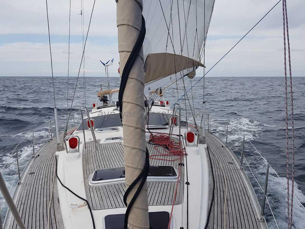 Feeling 546 Prestige- Under sails