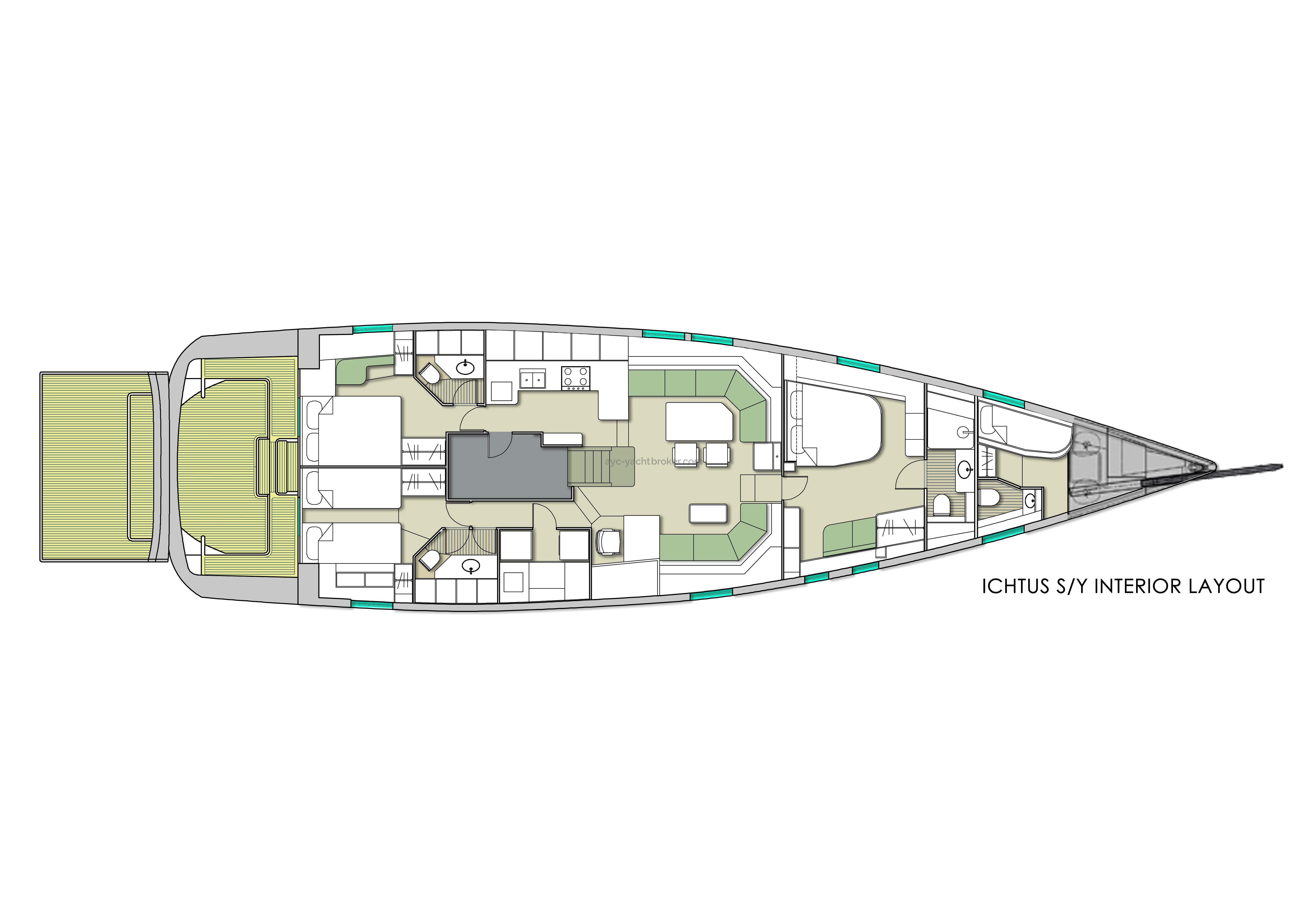 AYC - Futuna 70 layout 4cab