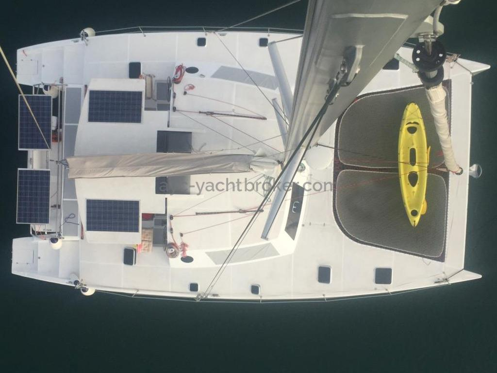 Flashcat 52s - AYC Yachtbroker - From the mast top