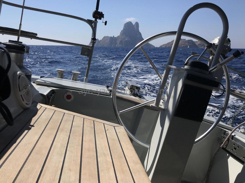 Garcia Nouanni 47 - Steering position
