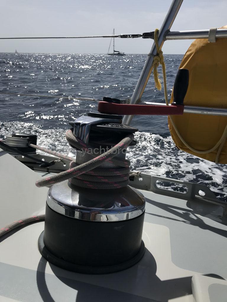 Garcia Nouanni 47 - Starboard winch