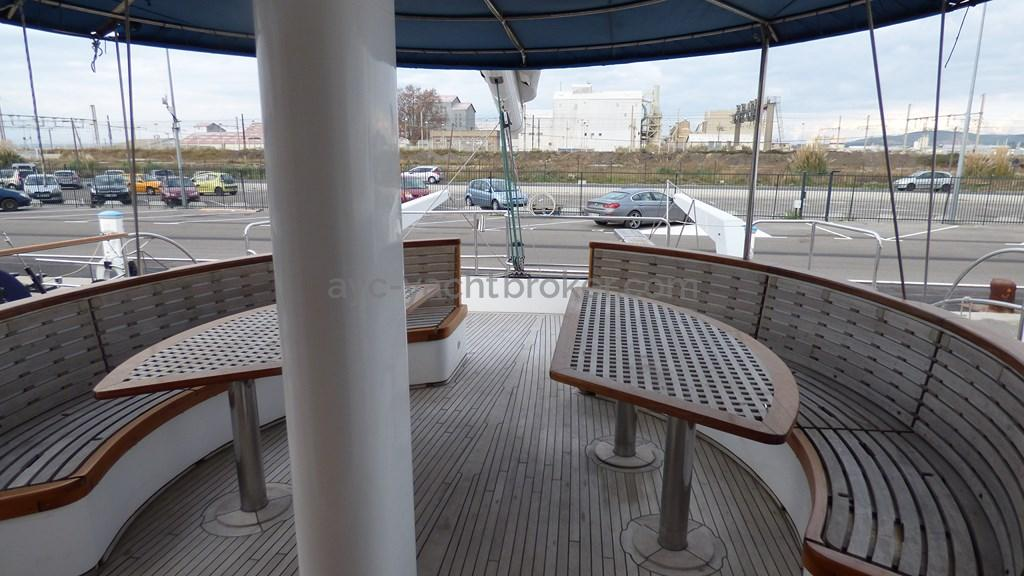 AYC - Liman Ketch - Deck saloon