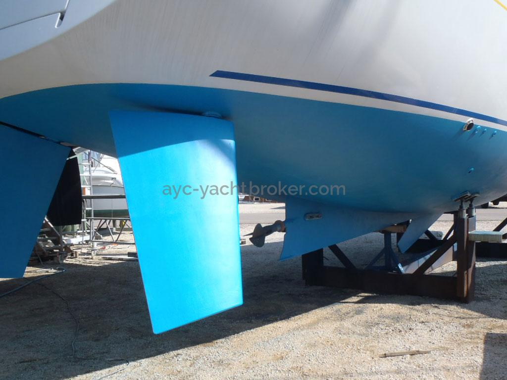 Alliage 48 CC - Rudders and propeller