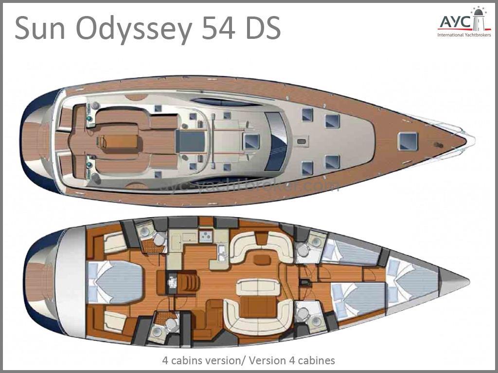 Sun Odyssey 54 Ds 2005