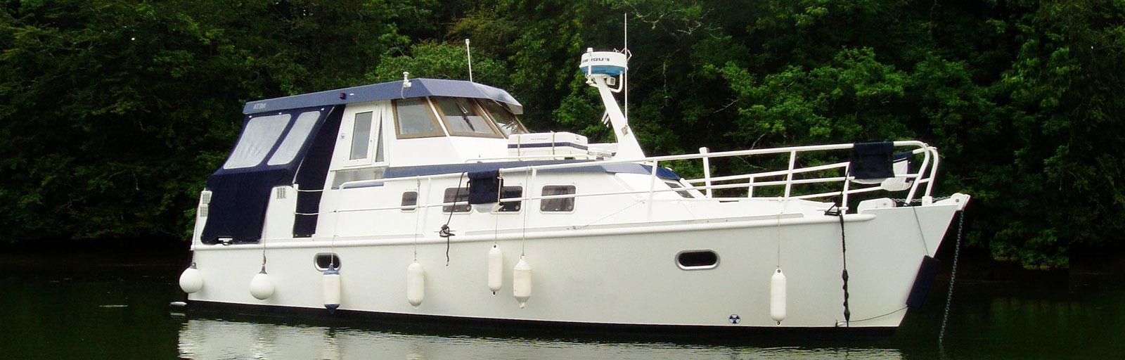 AYC Yachtbroker - Meta Trawler 33