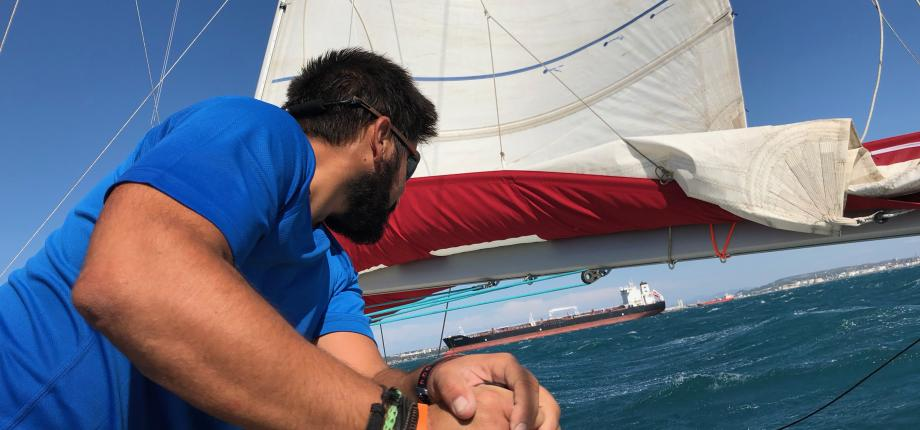 AYC CIGALE 16 full batten mainsail