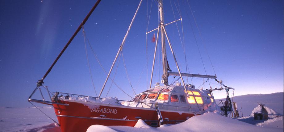 Polar expeditions aluminium sailboat